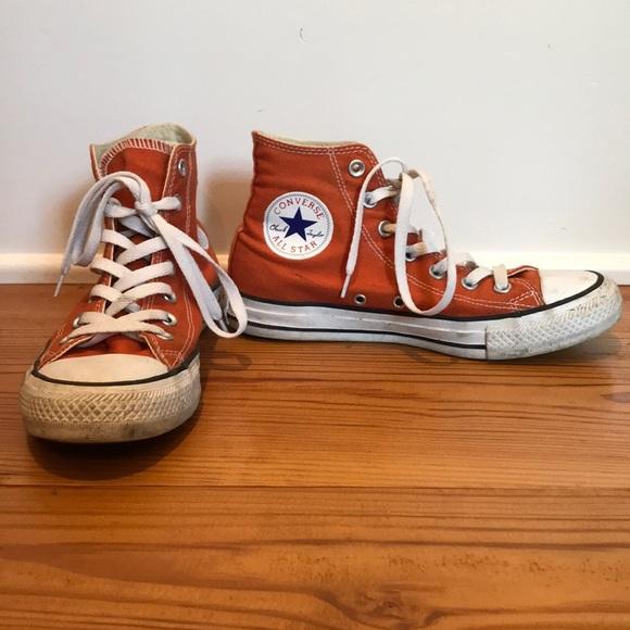 Converse Shoes | Burnt Orange Hightop